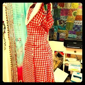 True Vintage 1960s House Dress